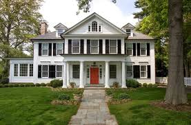 colonial revival front porch google search houses colonial