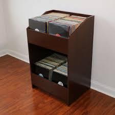 Record Storage Cabinet Lpbin Lp Storage Cabinet In Java Cherry Bin Style Record Storage