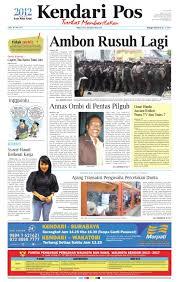 kendari pos edisi 16 mei 2012 by kendarinews issuu