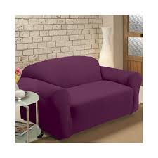 Slipcovers For Reclining Loveseat Furniture Beautiful Purple Loveseat Slipcover Decor With Round