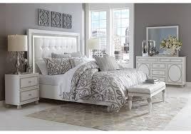 Modern Bedroom Platform Set King Lacks Sky Tower 4 Pc Queen Bedroom Set Contemporary Style Home