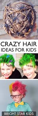 crazy hair ideas for 5 year olds boys 18 crazy hair day ideas for girls boys bright star kids