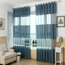 Tan And Blue Curtains Curtains Vertical Striped Curtains For Classy Interior Home