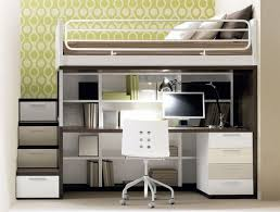 bunk bed with stairs and desk beds catalina stair loft cocoa