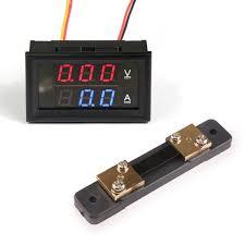 drok dc voltmeter ammeter dual display u2013 drok