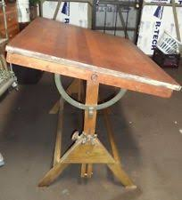 Dietzgen Drafting Table Cast Iron Table Antique Furniture Ebay