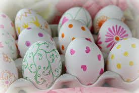 blown easter eggs pretty easter inspiration sharpie eggs craft just a smidgen