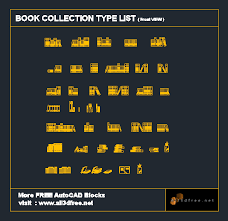 autocad blocks books collection all3dfree net