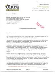 complaint sent to the office for civil rights letter local