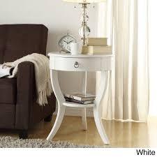 round wood accent table inspire q burkhardt tripod round wood accent table by bold walmart com