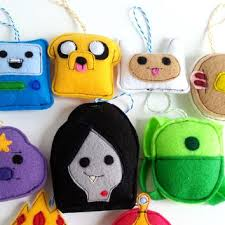 adventure time ornaments from koalacakes86 on etsy