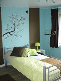 chambre turquoise et marron 4 photos eva36