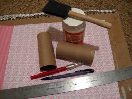 diy candy holder from a toilet paper roll make something mondays