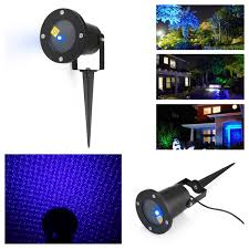 Christmas Outdoor Light Projector by Outdoor Waterproof Lawn Lights Show Firefly Star Landscape Laser