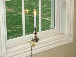 automatic window candle lights holiday window candles window candle electric electric sensor window