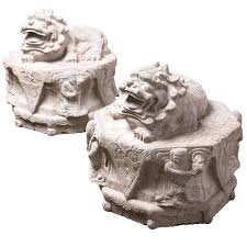 fu dogs for sale pair of reclining fu dogs for sale at 1stdibs