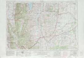 Topographical Map Of Utah by Ogden Topographic Maps Wy Ut Usgs Topo Quad 41110a1 At 1