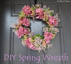 diy spring wreath u2013 puddy u0027s house