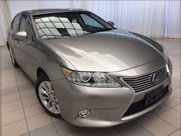 lexus es hybrid sedan certified 2015 lexus es 300h executive package 1 owner hybrid in