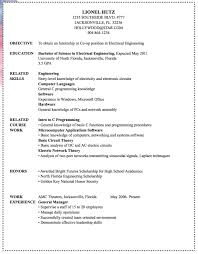 Sample Resume For Office Staff Position by Electrical Engineer Sample Resume Http Exampleresumecv Org
