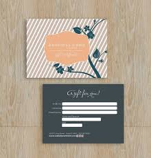 unique gift cards gift certificate design heanordirect info