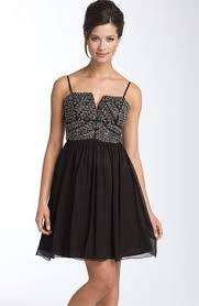 adrianna papell polka dot chiffon fit u0026 flare dress available at