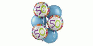 50th birthday balloon bouquets 50th birthday balloon bouquet alison s designer florist deliver