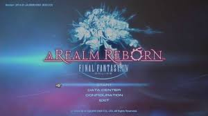 Data Centers Title Final Fantasy Xiv A Realm Reborn Title Screen Hd Youtube