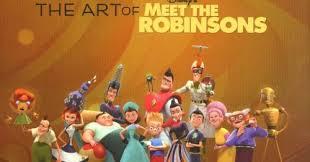 disney books art meet robinsons