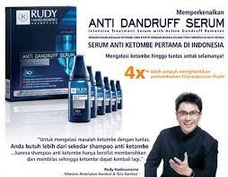 Serum Rudy Hadisuwarno rudy hadisuwarno anti dandruff serum per box update harga terkini