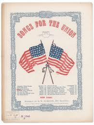 Bonnie Flag Notated Music Popular Songs Of The Day Library Of Congress