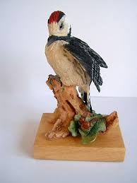 woodpecker bird ornament bird figurine woodpecker bird ornaments