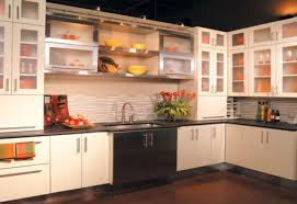 Alternatives To Kitchen Cabinets by Kitchen Cabinets No Doors Image Collections Glass Door Interior