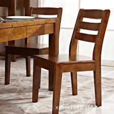 chair solid wood casual rustic dining room table and chai solid