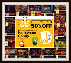 halloween city printable coupons 50 off halloween candy flash sale at kroger today 9 21 only