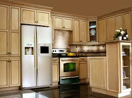 lovely glazed kitchen cabinets about home renovation ideas with