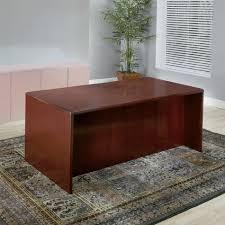 72 x 36 desk desk shell 72x36 dark cherry wood