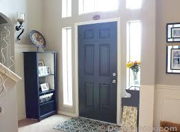 How To Paint An Interior Door Black Interior Painted Door Www Decorchick Com Great Idea Need