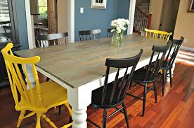 Farmers Dining Table And Chairs Rustic Farmhouse Dining Table U2014 Decor And The Dog
