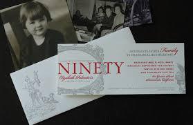 90th birthday party invitations marialonghi com