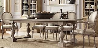 restoration hardware 17 c monastery table bring the 17th century charm into your dining room with this