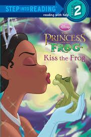 step reading kiss frog disney princess frog
