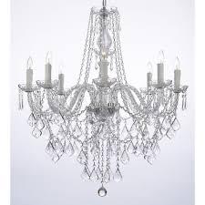 Shaded Crystal Chandelier Astoria Grand Anton 8 Light Crystal Chandelier U0026 Reviews Wayfair