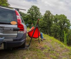 assisted hammock stand