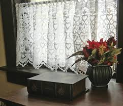 European Lace Curtains European Macrame Ring Lace