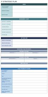 Best Free Excel Templates 9 Free Strategic Planning Templates Smartsheet