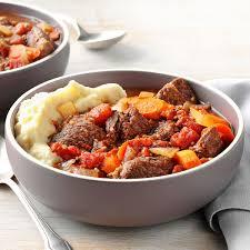 garlic lover u0027s beef stew recipe taste of home