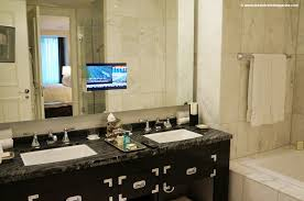 Tv In Mirror Bathroom by The Trump Life At Trump International Hotel U0026 Tower To