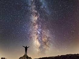 via lattea web vogliamo il cielo buio per vedere le stelle盪 l esempio