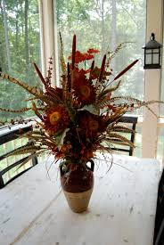 Dining Room Flower Arrangements - decoration ideas small and beautiful silk flower with round
